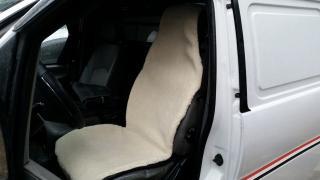 100% мех Накидки на сиденья автомобиля. Чехлы из овчины, чохли