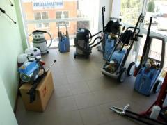 Carwash,vacuum cleaners,chemicals