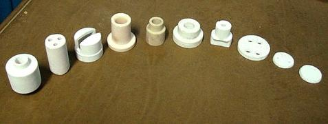 Ceramic sleeve for heater manufacturing