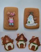 Courses on sculpting fondant, decorating gingerbread