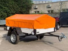 For sale a trailer for a car Lev 2000x1300 mm from the manufacturer