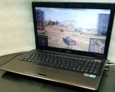 Gaming laptop Asus K52J (core i7, 8 gig, powerful video card)