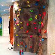 Home climbing wall