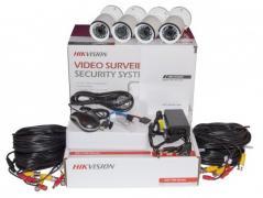 Комплект TurboHD видеонаблюдения Hikvision 2 Мп