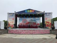 Rent of the stage and podiums in Kiev