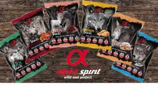 The ALPHA SPIRIT treats (semi-moist, natural, hypoallergenic)