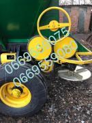 The spreader of fertilizers MVU-5(RUM-5)