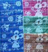 Towels and blankets in stock