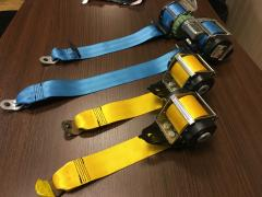 Unlock seat belts after an accident repair belts and pyro