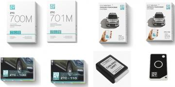 ZONT GPS security-search system for transport